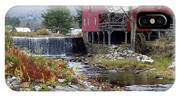 Gristmill Weston Vermont IPhone Case