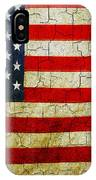Grunge American Flag  IPhone Case