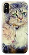 Gutter Kitties Seven IPhone Case