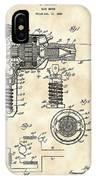 Hair Dryer Patent 1929 - Vintage IPhone Case