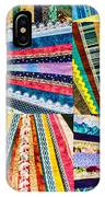 Hand Made Quilt IPhone Case