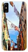 Hanging In Venice IPhone Case