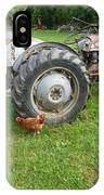 Hard Days Work Farm Tractor IPhone Case