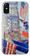 Hassam's Allies Day May 1917 -- The Avenue Of The Allies IPhone Case