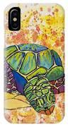 Hawaiian Sea Turtle  IPhone Case