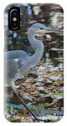 Heron On The River IPhone Case