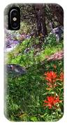 High Country Wildflowers 2 IPhone Case