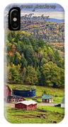 Hillside Acres Farm IPhone Case