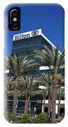 Hilton Anaheim IPhone Case