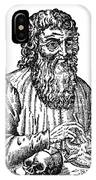 Hippocrates (c460-c377 B.c.) IPhone Case