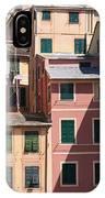 homes in Camogli IPhone Case