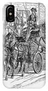 Horse-drawn Coach IPhone Case