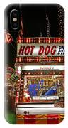 Hot Dog On A Stick IPhone Case