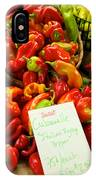 Hot Peppers IPhone Case