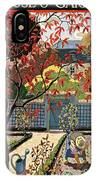House And Garden Fall Planting Number Cover IPhone X Case