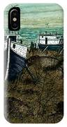 House Boats IPhone Case