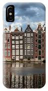 Houses In Amsterdam IPhone Case