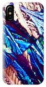 Hydroquinone Crystals In Polarized Light IPhone Case