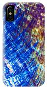 Hydroquinone Microcrystals Color Abstract Art IPhone Case