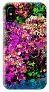 I Love Flowers IPhone Case