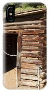 Ice House At The Holzwarth Historic Site IPhone Case