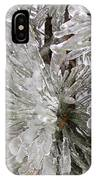 Ice On Pine Branches IPhone X Case