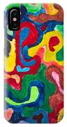 Image Of Multicolored Painting IPhone Case