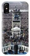 Inauguration IPhone Case