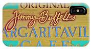 Jimmy Buffetts Margaritaville Cafe Sign The Original IPhone Case