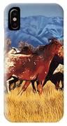 Joe's Horses IPhone Case