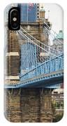 John Roebling Bridge 1867 IPhone Case