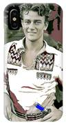John Wayne In Buckskins The Big Trail 1930-2013 IPhone Case