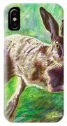 Joyful Hare IPhone Case