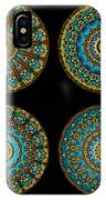 Kaleidoscope Steampunk Series Montage IPhone Case