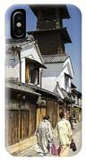 Kawagoe Bell Tower IPhone Case