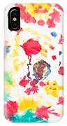 Kid's Artwork Colorful Background IPhone Case