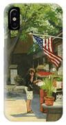 Kirkwood Farmers Market American Flag IPhone Case