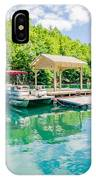 Lake Fontana Boats And Ramp In Great Smoky Mountains Nc IPhone Case