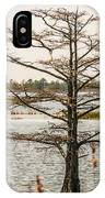 Lake Mattamuskeet Nature Trees And Lants In Spring Time  IPhone Case