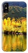Lake Reflection In Fall  IPhone Case