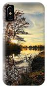 Lake Wausau Sunset IPhone Case