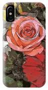 Lancaster Flowers IPhone Case