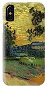 Landscape At Twilight IPhone Case