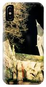 Large Stone Church At Night IPhone Case