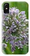 Lavender Globe Lily IPhone Case