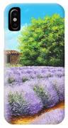 Lavender Lines IPhone Case