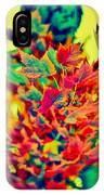 Leaves In Abstract IPhone Case