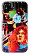 Led Zeppelin Art IPhone Case
