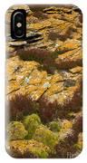 Lichened Rocks IPhone Case