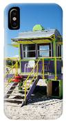 Lifeguard Station IPhone Case